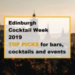 edinburgh cocktail week 2019 top picks