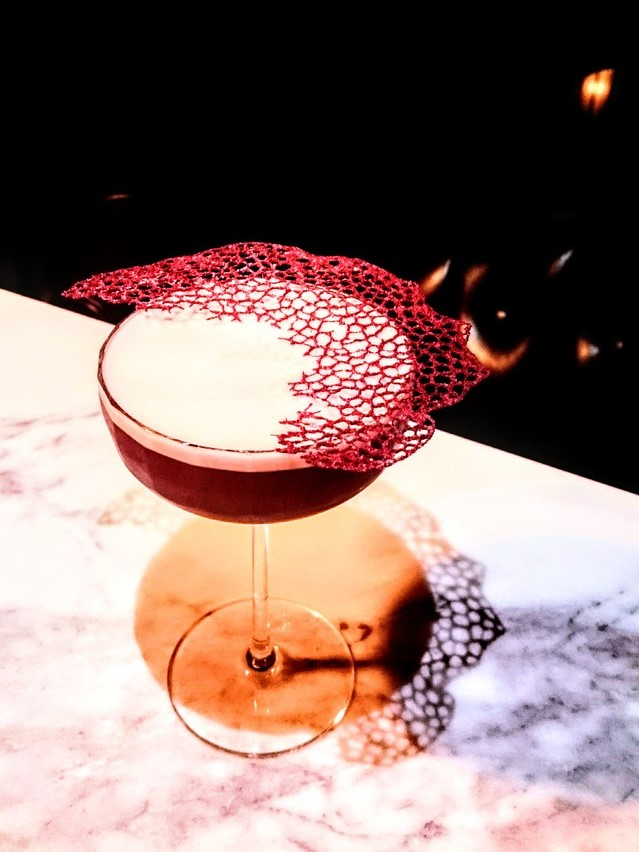 moon phase gin cocktail