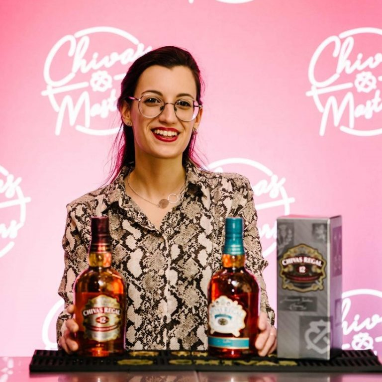 I developed cocktails for brands like Chivas,